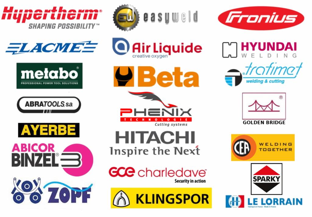 Logos fournisseurs